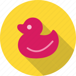 bath, duck, plastic, rubber, toy, toys, yellow icon