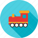wood, play, toy, yellow, train, child, red