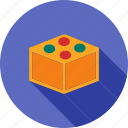 block, blocks, brick, building, cube, toy, wood icon