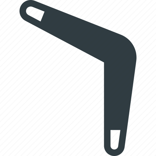 boomerang, game, sport, toy icon