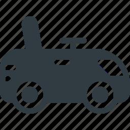 car, child, toy icon