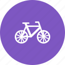 bicycle, bike, chain, pedal, seat, tire, wheel icon