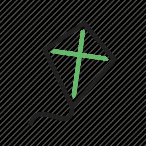 Celebration, festival, flying, holiday, kite, kites, music icon - Download on Iconfinder