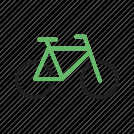 bicycle, bike, chain, pedal, seat, tire, wheel icon