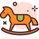 amusement, games, horse, kid, playful, slide icon