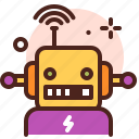 amusement, games, kid, playful, robot icon