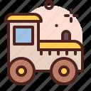 amusement, games, kid, playful, train icon