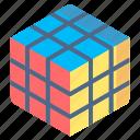 cube, kid, rubik, toys