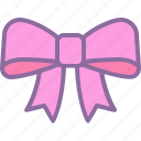 present, birthday, package, gift, ribbon, bow, pink