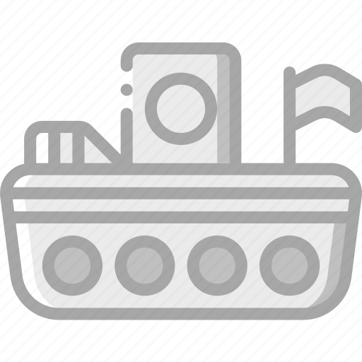 boat, toy, toys icon