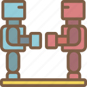 robots, toy, toys icon