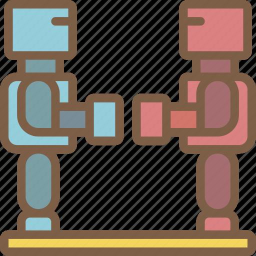 robots, toy, toys icon