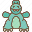 dino, teddy, toy, toys icon