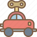 car, toy, toys, up, wind icon