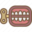 teeth, toy, toys, up, wind icon