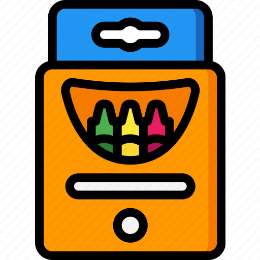Crayons, toy, toys icon - Download on Iconfinder