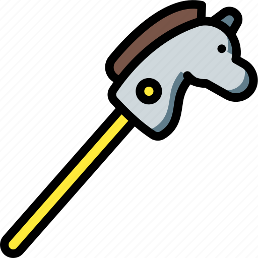 Horse, stick, toy, toys icon - Download on Iconfinder