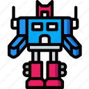 robot, toy, toys, transforming icon