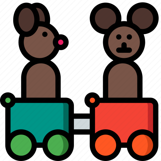 Carriges, toy, toys, train icon - Download on Iconfinder