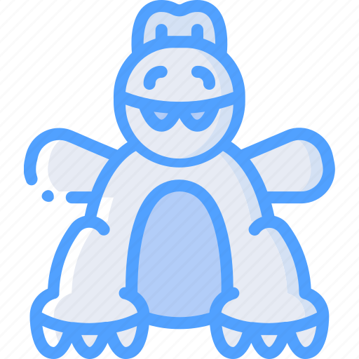 Dino, teddy, toy, toys icon - Download on Iconfinder