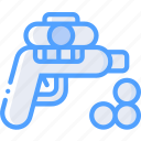 ball, foam, gun, toy, toys