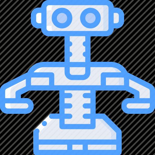 robot, toy, toys icon