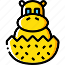 hatchling, toy, toys icon