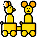 carriges, toy, toys, train icon