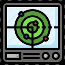 radar, location, military, area, technology