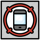 smartphone, tracking, aim, electronics, mobile, phone