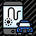 tracking, car, navigation, location, smartphone