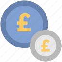 british pound, money, payment, pound coins, pound sack icon