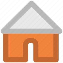 apartment, house, hut, shack, villa, webpage home icon