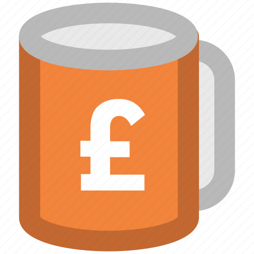 coffee, coffee cup, crockery, cup, pound cup, tea, tea cup icon