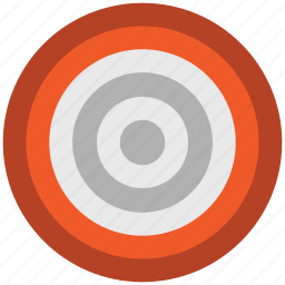 aiming, dart board target, dartboard, game, target, throw icon