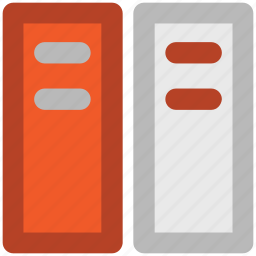 archives, books, file folders, files, office documents, record icon