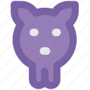 bank, guardar, money, pig, pig head, piggy, save icon