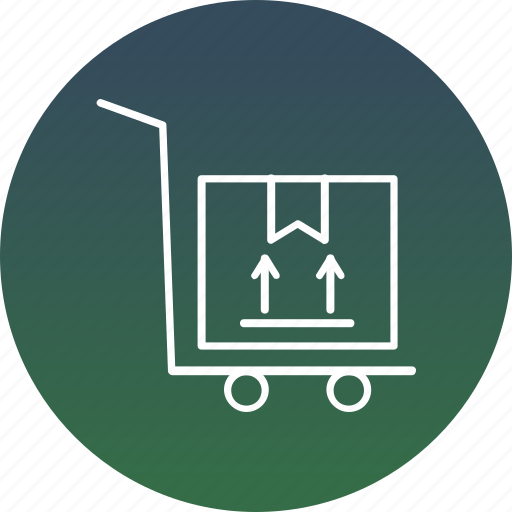 delivery order, distribution, freight, product service, warehouse delivery icon