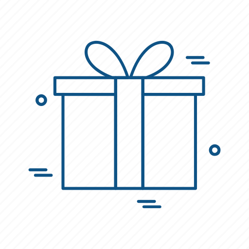 business, giftbox, marketing, trade icon