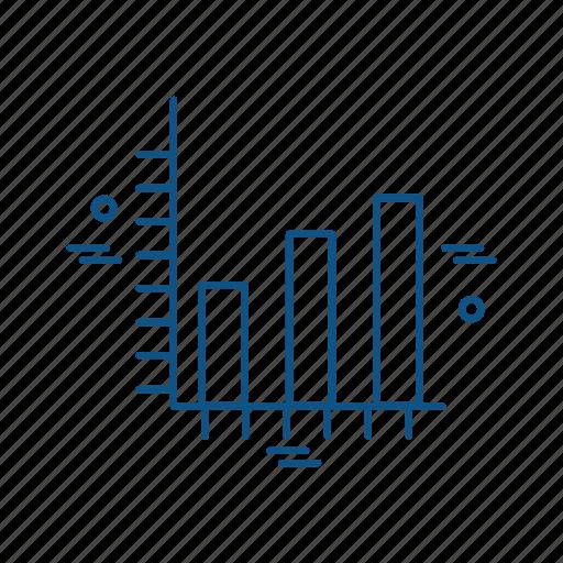 business, graph, marketing, trade icon