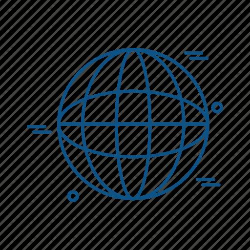 business, marketing, trade, world icon