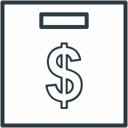 banking, dollar, donation, financial concept, funds icon