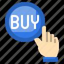 buy, button, shopping, click, press, finger