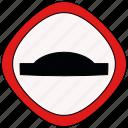 alert, bump, traffic, tumb
