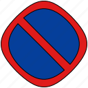 hold, parking, stop, traffic icon