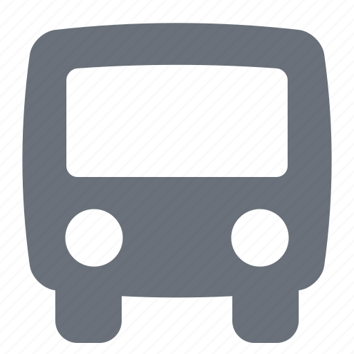 bus, pika, simple, traffic, transportation icon