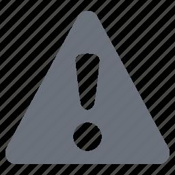 alert, danger sign, pika, simple, traffic icon