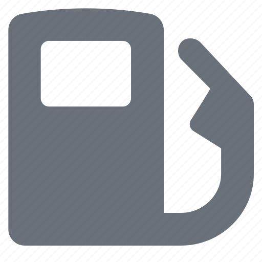 diesel, gas pump, gasoline, pika, simple, traffic, transportation icon