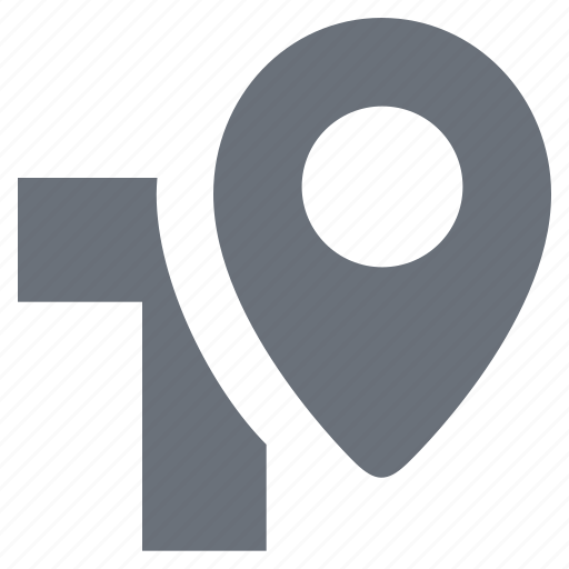 location, pika, simple, traffic icon