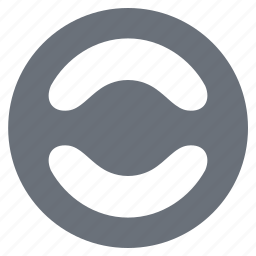 pika, simple, steering wheel, traffic icon